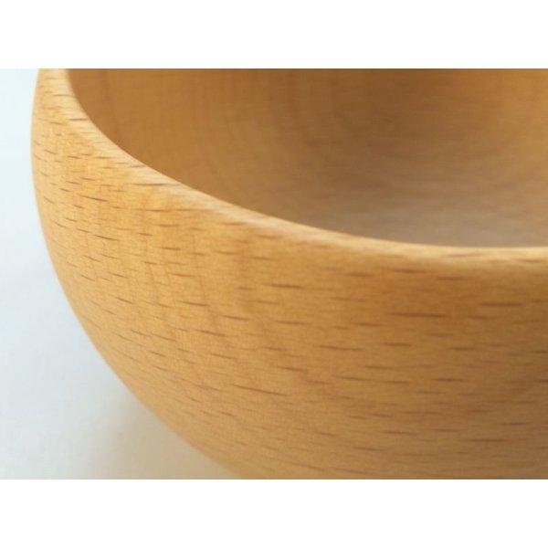 画像2: 木のお椀(S)サイズ ビーチ(ぶな)