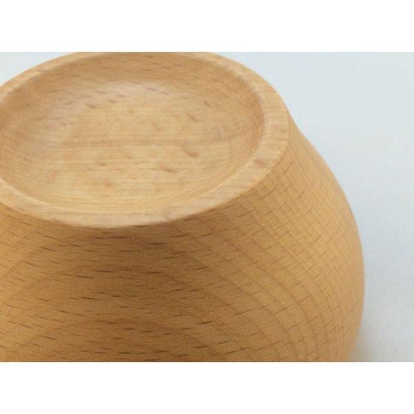 画像4: 木のお椀(S)サイズ ビーチ(ぶな)