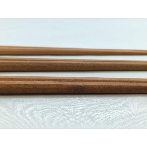 画像3: WOOD'N 八角サオ箸
