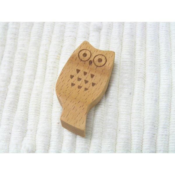 画像3: フクロウの箸おき