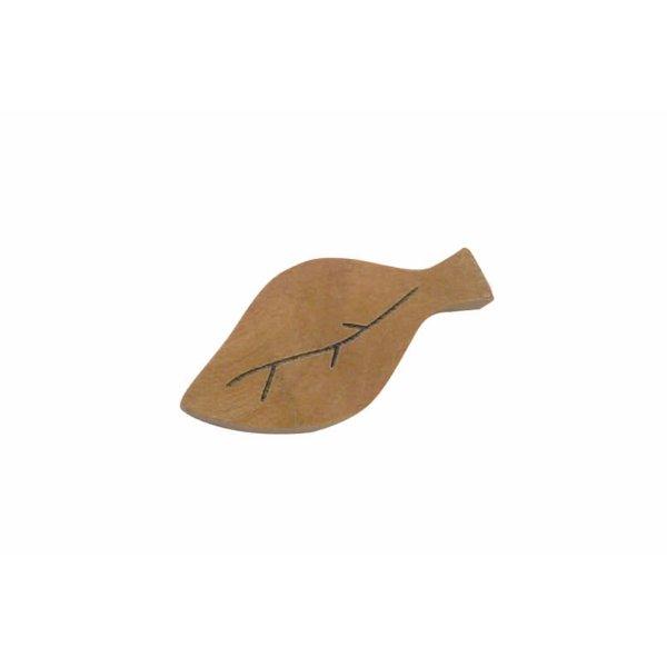 画像1: 葉っぱの箸おき サオ材